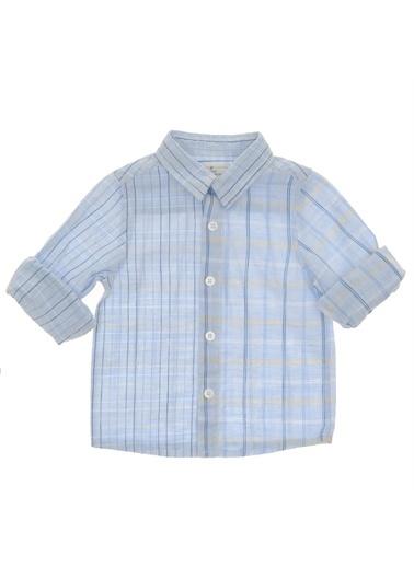 Panço Uzun Kollu Gömlek 19112093100 Mavi